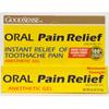 Geiss, Destin & Dunn Oral Pain Relief GoodSense Gel 0.5 oz. Tube MON 10912700