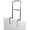Apex-Carex Bathtub Grab Bar Carex 12 W x 1 D x 16 H Chrome Steel MON 11083501