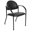 chairs & sofas: McKesson - Side Chair entrust™ Performance Clamshell Fixed Armrests Poly-Foam Upholstery
