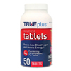 Nipro Diagnostics Glucose TRUEplus 50 per Bottle Tablet Raspberry, 50/BT MON 11502400