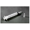 Urological Irrigation: Amsino International - Irrigation Syringe AMSure 60 mL Poly Pouch Catheter Tip