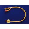 Teleflex Medical Foley Catheter Rusch Gold 2-Way Standard Tip 5 cc Balloon 18 Fr. Silicone Coated Latex MON 11811910
