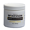 Skin Care: McKesson - Vitamin A & D Skin Protectant Ointment, 13 oz. Jar