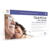Quidel QuickVue® Covid-19 Rapid Test At-Home Kit. Includes 2 Tests. Results in 10 Minutes. MON 1190065BX