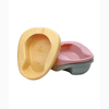 Bedpans: Medical Action Industries - Pontoon Bedpan Medegen Dusty Rose 2 Quart Unisex, 20EA/CS