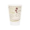 Solo Drinking Cup 7 oz. Cold Symphony Wax Coated Paper, 100EA/PK 20PK/CS MON 972476CS