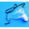 Vyaire Medical Oxygen Mask AirLife Tracheostomy Large Adjustable Neck Strap MON 441116EA