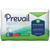 First Quality Prevail® Nu-Fit® Incontinence Briefs, Medium, 96/CS MON 12333100