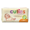 First Quality Cuties® Diapers, 8-12 lbs. Size 1, 50 EA/PK MON 12343101