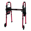 McKesson Travel Walker Adjustable Height 300 lbs. Weight Capacity 29-1/2 to 37 Inch Height, 1/ EA MON 12633800