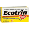 Medtech Laboratories Pain Relief Ecotrin 325 mg Strength Tablet 125 per Bottle MON 13792700