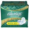 Procter & Gamble Feminine Pad Always Ultra Thin Maxi Regular Absorbency (1382464) MON 13821700