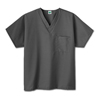 Ring Panel Link Filters Economy: White Swan - Fundamentals One Pocket V-Neck Scrubs Top, Granite, 3XL