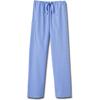 White Swan Fundamentals Unisex Drawstring Scrub Pants, Ceil Blue, 2XL MON 20028500