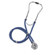 Mabis Healthcare Sprague - Rappaport Stethoscope Mabis Legacy Blue 2-Tube 22 Tube Double Sided Chestpiece MON 14142500