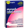 OTC Meds: McKesson - Anti-Diarrheal sunmark 262 mg Strength Chewable Tablet 30 per Box
