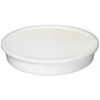 Sammons Preston Divided Dish White Polypropylene 10 Diameter X 1 3/4 H Inch Dish, 7/8 H Inch Section Dividers MON 14364000