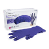 McKesson Exam Glove Confiderm NonSterile Powder Free Nitrile Textured Fingertips Blue Small Ambidextrous MON 14621310