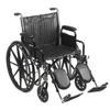 McKesson Wheelchair (146-SSP220DDA-ELR) MON 14624201