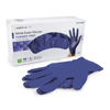 McKesson Exam Glove Confiderm NonSterile Powder Free Nitrile Textured Fingertips Blue Medium Ambidextrous MON 14641310