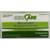 OTC Meds: McKesson - Laxative Suppository 12 Suppositories, 12EA/BX