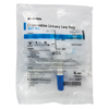 Drainage: McKesson - Urinary Leg Bag Anti-Reflux Valve 500 mL Vinyl