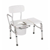transfer bench: Apex-Carex - Bath / Commode Transfer Bench 17 to 21 Inch 300 lbs. Fixed Arm