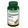 US Nutrition Cinnamon Supplement Capsule 1000 mg, 100 per Bottle MON 16062700