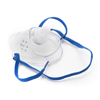 McKesson Oxygen Mask Short Pediatric One Size Fits Most Adjustable Elastic Head Strap MON 16233901
