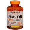 US Nutrition Fish Oil Sundown Naturals® 1000 mg Softgels 200 per Bottle MON16422700
