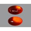 Qualitest Laxative Doc-Q-Lace Softgel Capsule 1000 per Bottle 100 mg Strength Docusate Sodium MON 16672700