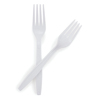 McKesson Fork General Purpose White Polypropylene (16-9000) MON 16931200