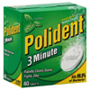 Block Drug Company Denture Cleaner Polident® Tablet MON 17291710