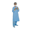 workwear healthcare: Halyard - Surgical Gown with Towel AERO BLUE Large Blue Unisex AAMI Level 3 Sterile, 32/CS