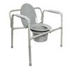 McKesson Heavy Duty Folding Commode Chair (146-11117N-1) MON 1065225EA