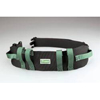 "Transfer Aids Safety Transfer Belts: Posey - 55"" Nylon Gait Belt with Buckle, Green"