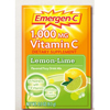 energy drinks: Pfizer - Oral Supplement Emergen-C Lemon Lime 0.3 oz. Individual Packet Powder