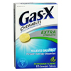 OTC Meds: Novartis - Gas Relief Gas-X 125 mg Strength Chewable Tablet 18 per Box