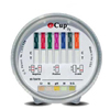 Alere Drugs of Abuse Test iCup® Dx 8-Drug Panel with Adulterants AMP, BZO, COC, mAMP/MET, MTD, OPI, OXY, THC (BL, CR, NI, pH, SG) Urine Sample CLIA Waived 25 Tests MON 18672400