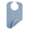 Salk Bib Hook and Loop Closure Reusable Terry Cloth / Vinyl, 1/ EA MON 1100887EA