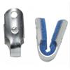 DJO Finger Splint Padded Aluminum / Foam Left or Right Hand Silver / Blue Large MON 19073000