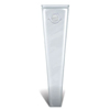 Urological Irrigation: Convatec - Ostomy Irrigation Sleeve Visi-Flow® Not Coded 2-1/4 Inch Flange 32 Inch Length, 5EA/BX