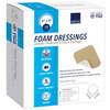 Abena Foam Dressing 4 X 4 Square Without Border, Sterile MON 19602100
