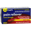 McKesson Pain Reliever sunmark® Tablets 500 mg, 100 per Bottle MON 19772700