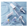 """needles: Kawasumi Laboratories - Administration Set 20 Drops / mL Drip Rate 84"""" Tubing"""