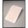 Tidi Products Bedpan Cover 19 L X 11.5 W X 3.5 H Inch, White, Open Back, Flushable, 250EA/BX MON 20101200