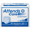 Attends Adult Absorbent Underwear Attends® Pull On Medium Disposable Moderate Absorbency MON 20103110