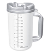 Whirley Thermo Mug 20 oz. Hot Clear, Granite, 50EA/CS MON 570986CS