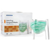 Masks Surgical Procedural Masks: McKesson - Pleated Surgical Masks with Ties, One Size Fits All, 300/CS