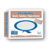 First Quality Brief Full Mat Body Shaped First Quality® 59-64 X-Large Beige Moderate-Heavy Absorbency, 16EA/PK MON 21133101